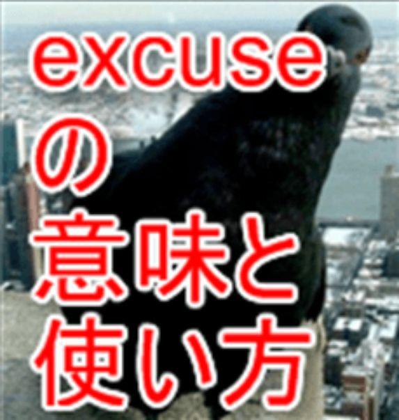 excuse意味